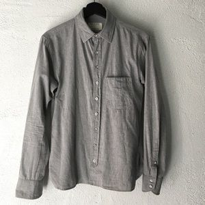 Rag & Bone Men's Grey Button Down Shirt Size S